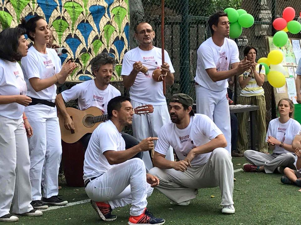 IV INTERNATIONAL FESTIVAL MATUMBÉ CAPOEIRA ROME 2017